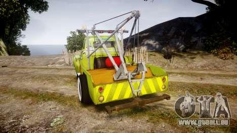 DMG Titan [EPM] Dalikfodda pour GTA 4 Vue arrière de la gauche