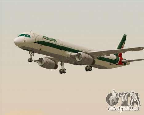 Airbus A321-200 Alitalia für GTA San Andreas linke Ansicht