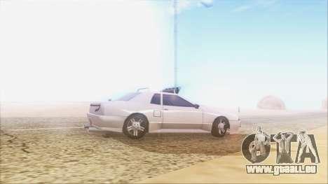 Elegy Drift pour GTA San Andreas laissé vue