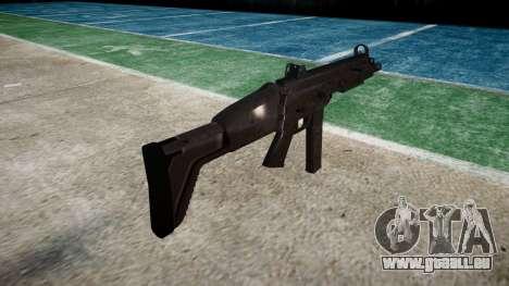 Pistolet SMT40 avec crosse icon3 pour GTA 4 secondes d'écran