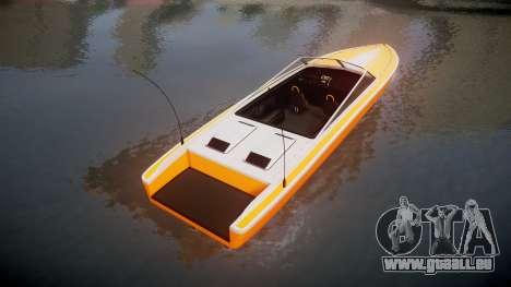 GTA V Shitzu Jetmax pour GTA 4 Vue arrière de la gauche