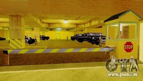 Die Wiederbelebung von allen Polizeistationen für GTA San Andreas