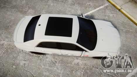 Chrysler 300 SRT8 2012 PJ SRT8 pour GTA 4 est un droit