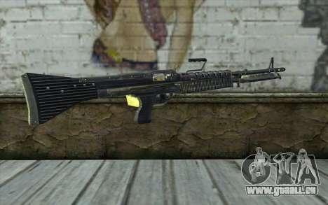 M60 from Battlefield: Vietnam für GTA San Andreas zweiten Screenshot