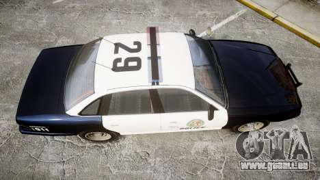 Vapid Police Cruiser GTA V LED [ELS] für GTA 4 rechte Ansicht