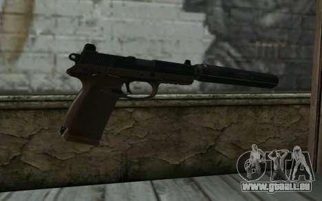 FN FNP-45 Mit Schalldämpfer für GTA San Andreas zweiten Screenshot