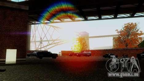 Véhicules neufs en SFPD pour GTA San Andreas cinquième écran