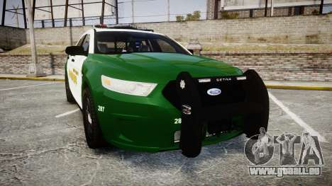 Ford Taurus 2014 Liberty City Sheriff [ELS] pour GTA 4