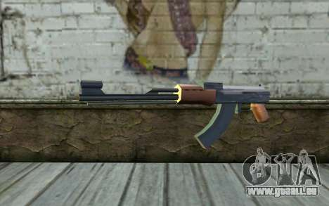 AK47 from Beta Version pour GTA San Andreas