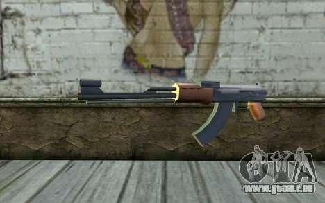 AK47 from Beta Version pour GTA San Andreas