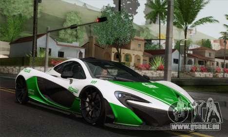 McLaren P1 HQ pour GTA San Andreas salon