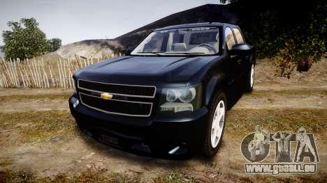 Chevrolet Avalanche 2008 Undercover [ELS] pour GTA 4