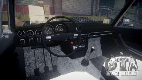 VAZ-2106 hooligan azerbaïdjanais style pour GTA 4 Vue arrière
