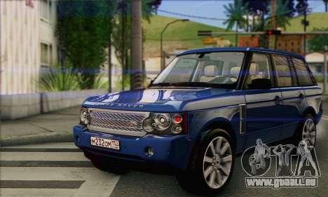 Range Rover Supercharged für GTA San Andreas