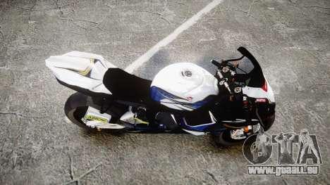 Suzuki GSX-R 1000 K10 pour GTA 4 est un droit