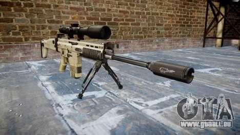 Gewehr Mk 17 SCAR-H Zweibein für GTA 4