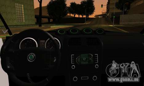 Skoda Fabia RS für GTA San Andreas zurück linke Ansicht