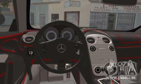 Mercedes-Benz SLR McLaren pour GTA San Andreas vue de droite