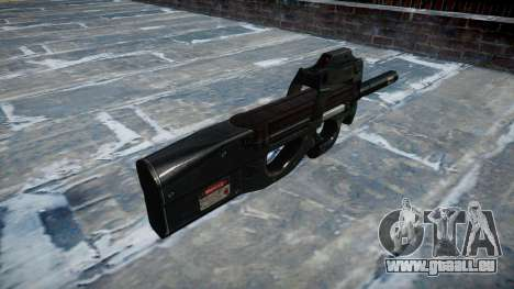 Gun Fabrique Nationale P90 zu vermeiden, wird zu für GTA 4 Sekunden Bildschirm