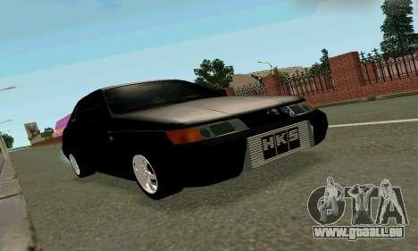 VAZ 21123 Chernysh pour GTA San Andreas laissé vue