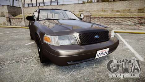 Ford Crown Victoria LASD [ELS] Unmarked pour GTA 4