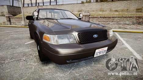 Ford Crown Victoria LASD [ELS] Unmarked für GTA 4