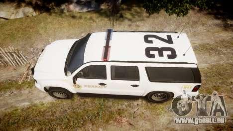 GTA V Declasse Granger LSS White [ELS] für GTA 4 rechte Ansicht