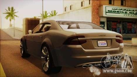 Lampadati Felon (IVF) für GTA San Andreas linke Ansicht