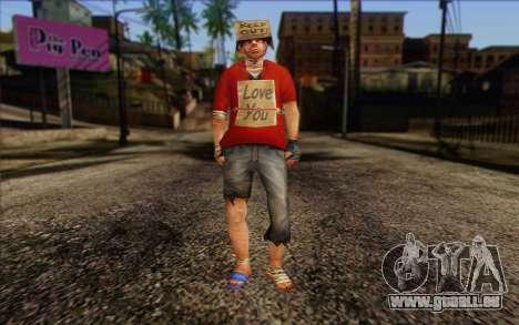 Vagabonds Skin 2 pour GTA San Andreas