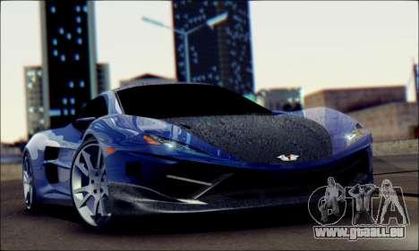 Shimmy Python 2012 pour GTA San Andreas