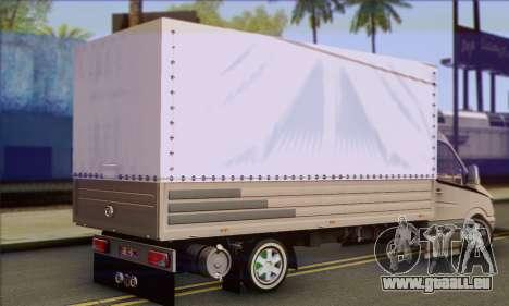 Mercedes-Benz Sprinter für GTA San Andreas linke Ansicht