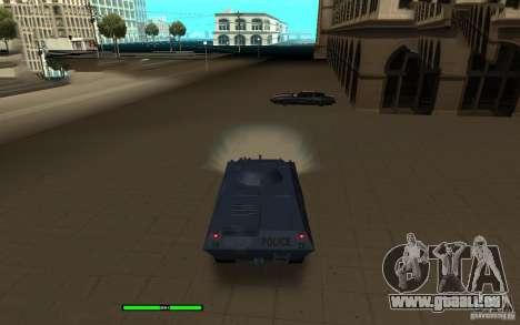 Car Indicator (HP) pour GTA San Andreas deuxième écran