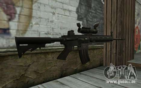 HK416 (Bump mapping) v1 für GTA San Andreas zweiten Screenshot