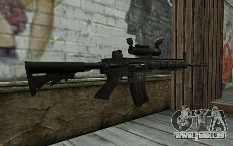 HK416 (Bump mapping) v1 für GTA San Andreas zweiten Screenshot