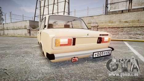 CES Lada 2106 pour GTA 4 Vue arrière de la gauche