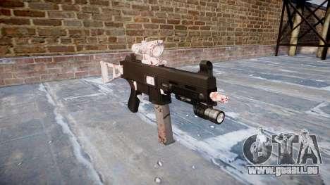 Gun UMP45 Cherry blossom für GTA 4