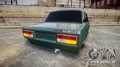 AIDE-2107 hobo pour GTA 4 Vue arrière de la gauche