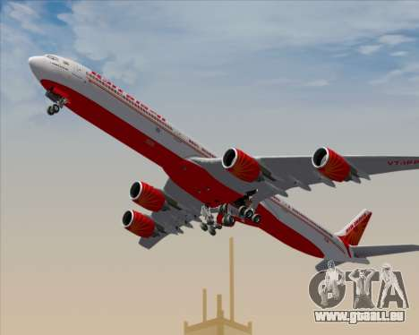 Airbus A340-600 Air India für GTA San Andreas Motor