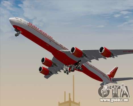 Airbus A340-600 Air India pour GTA San Andreas moteur