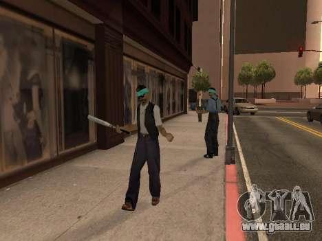 Ändern Bereiche von Banden und Ihre Waffen für GTA San Andreas dritten Screenshot