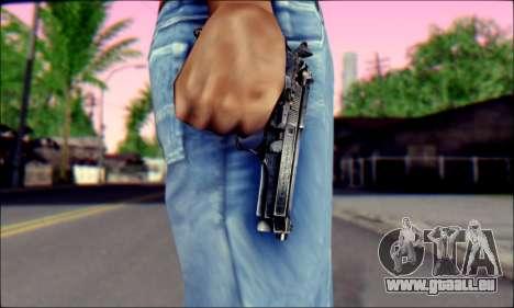 Beretta 92 pour GTA San Andreas troisième écran
