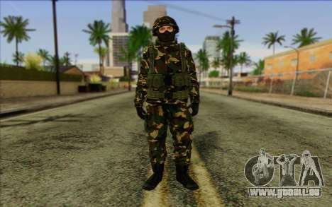 The Expendables 2 Enemy pour GTA San Andreas