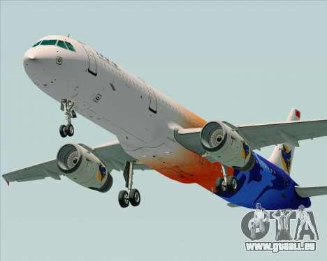 Airbus A321-200 Myanmar Airways International für GTA San Andreas Motor