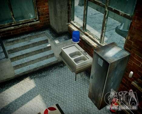 Garage avec de nouveaux intérieur Alcaline pour GTA 4 douzième d'écran