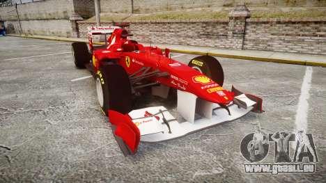 Ferrari 150 Italia Alonso pour GTA 4