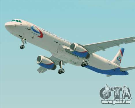 Airbus A321-200 Ural Airlines pour GTA San Andreas roue