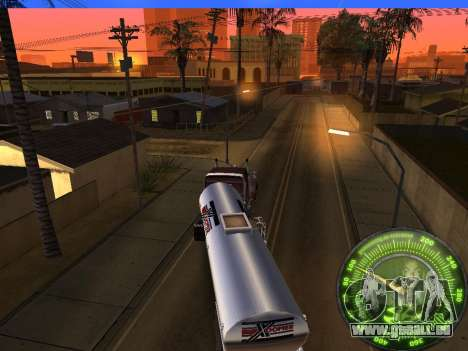 Tacho HITMAN für GTA San Andreas sechsten Screenshot