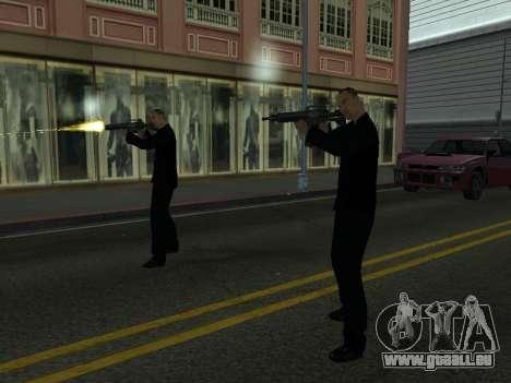 Ändern Bereiche von Banden und Ihre Waffen für GTA San Andreas