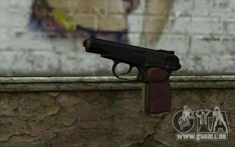 Le Pistolet Makarov pour GTA San Andreas