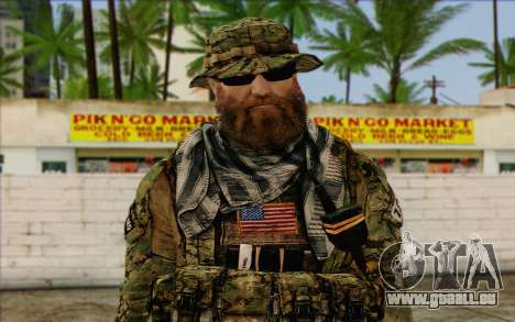 Dusty MOHW from Medal Of Honor Warfighter für GTA San Andreas dritten Screenshot